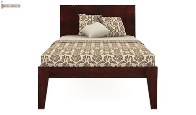 Walton Single Bed (Mahogany Finish)-2
