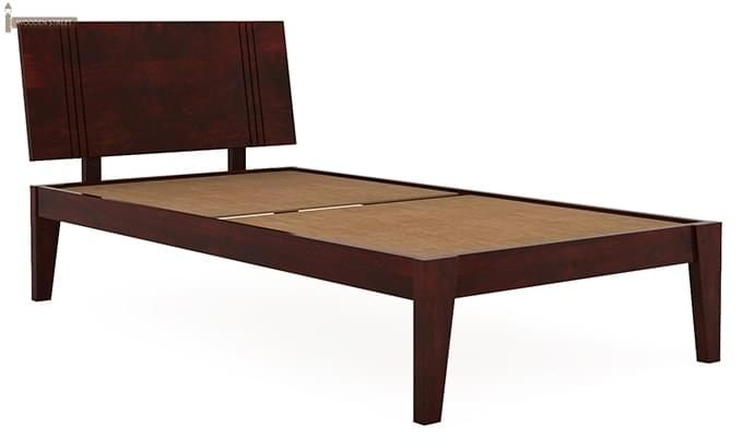 Walton Single Bed (Mahogany Finish)-3