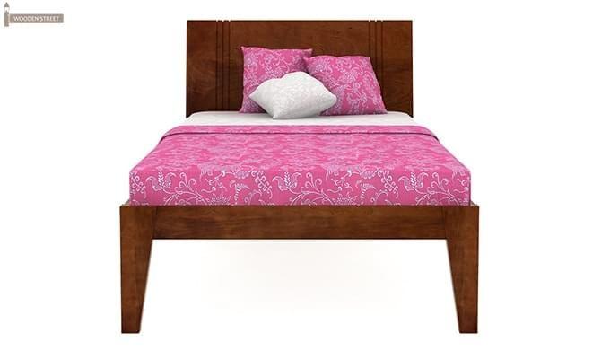 Walton Single Bed (Teak Finish)-2