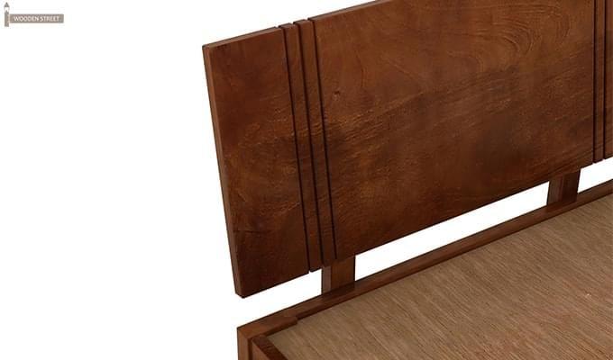 Walton Single Bed (Teak Finish)-4