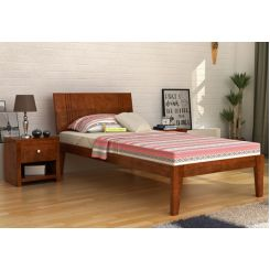 Walton Single Bed (Teak Finish)