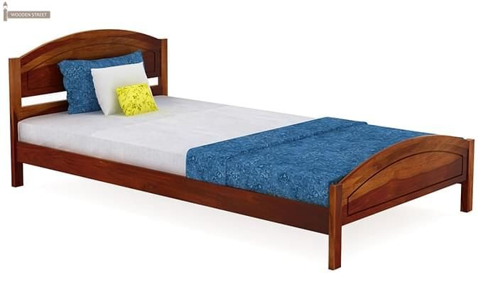 Zoey Single Bed (Honey Finish)-3