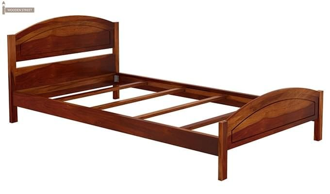 Zoey Single Bed (Honey Finish)-5