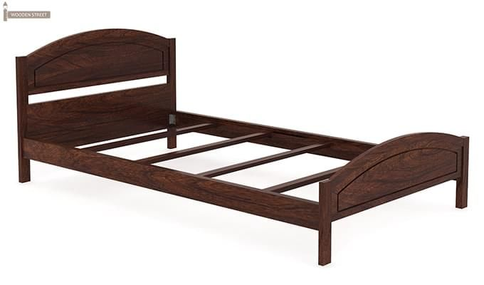 Zoey Single Bed (Walnut Finish)-4
