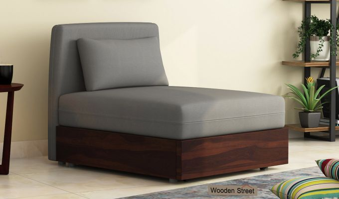 Buy Anima Single Fabric Sofa Cum Bed With Backrest Online In India Wooden Street