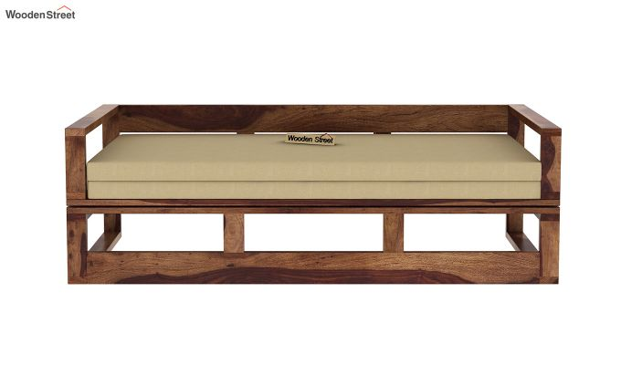 Bacon Divan Cum Bed (King Size, Teak Finish)-4