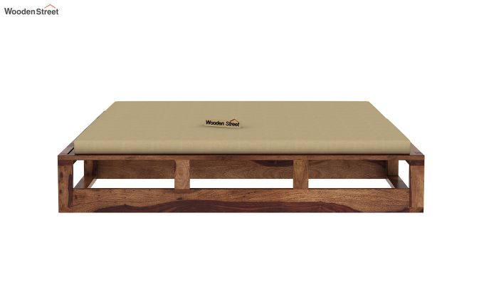 Bacon Divan Cum Bed (King Size, Teak Finish)-6