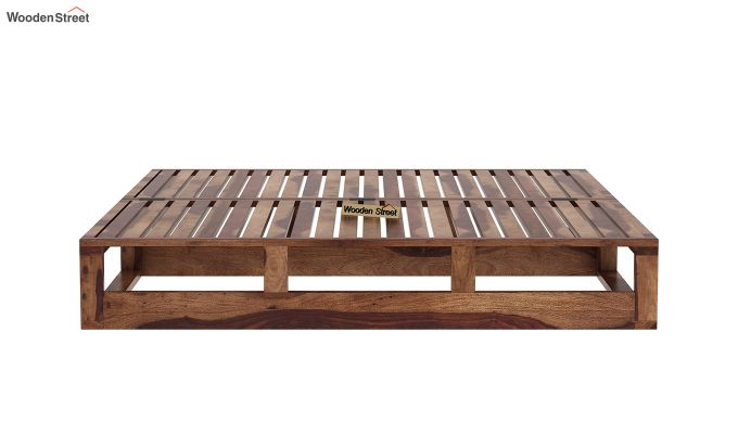 Bacon Divan Cum Bed (King Size, Teak Finish)-8