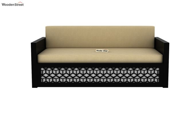 Betty Sofa Cum Bed (Queen Size, Black Finish)-4