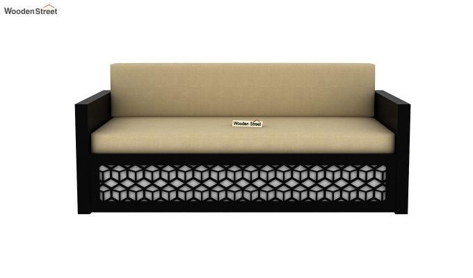 Betty Sofa Cum Bed (King Size, Black Finish)-4