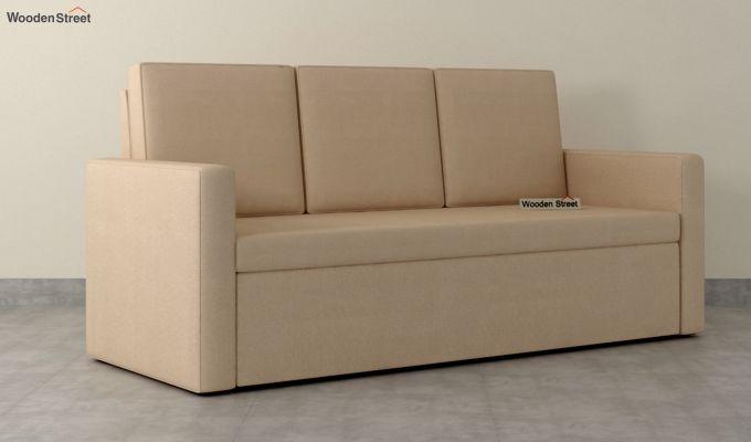 Claridge Fabric Sofa Cum Bed (Irish Cream)-2