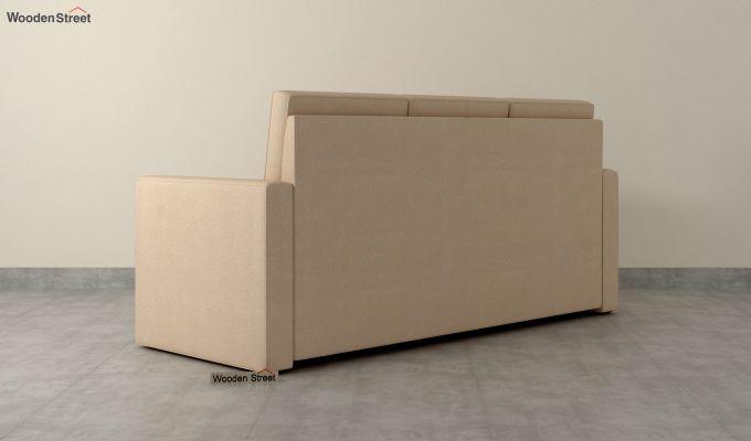 Claridge Fabric Sofa Cum Bed (Irish Cream)-4