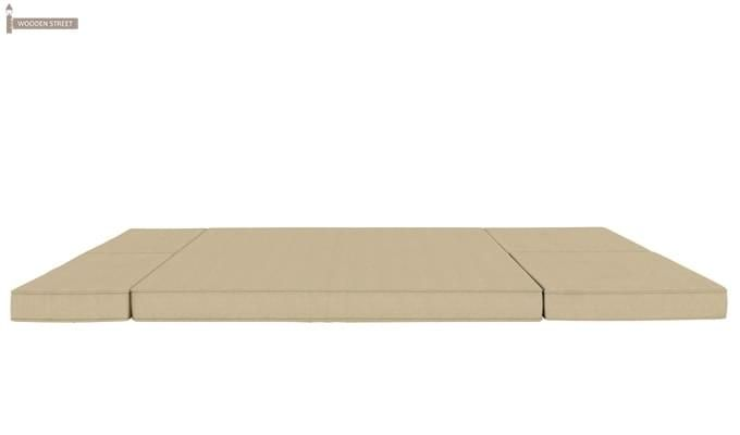 Coleman Futon Sofa Cum Bed (Two Seater, Ivory)-9