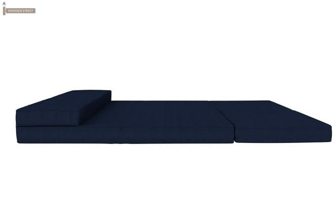 Coleman Futon Bed (Two Seater, Blue)-11