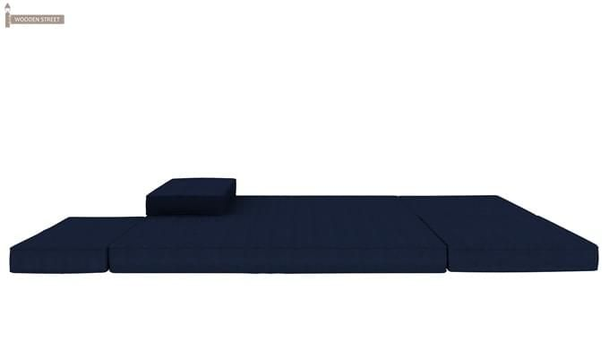 Coleman Futon Bed (Two Seater, Blue)-12