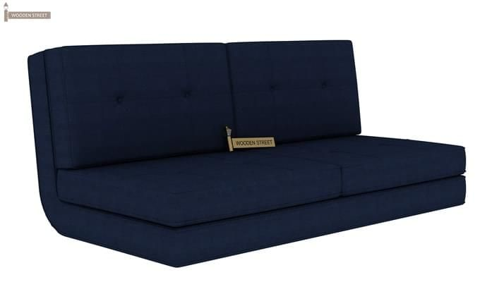 Coleman Futon Bed (Two Seater, Blue)-3