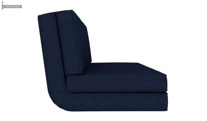Coleman Futon Bed (Two Seater, Blue)-5