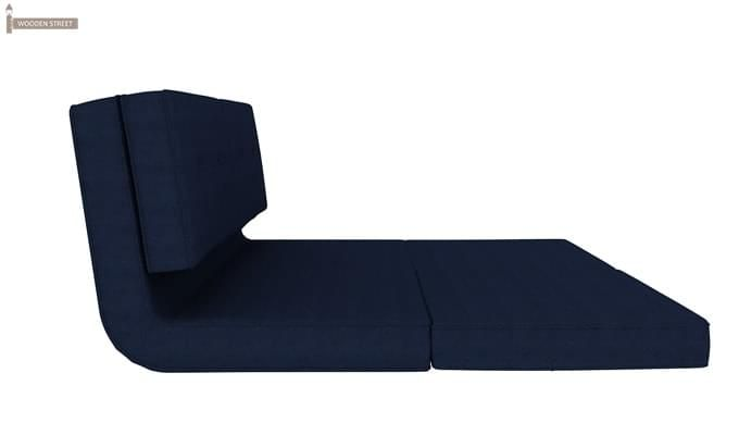 Coleman Futon Bed (Two Seater, Blue)-6