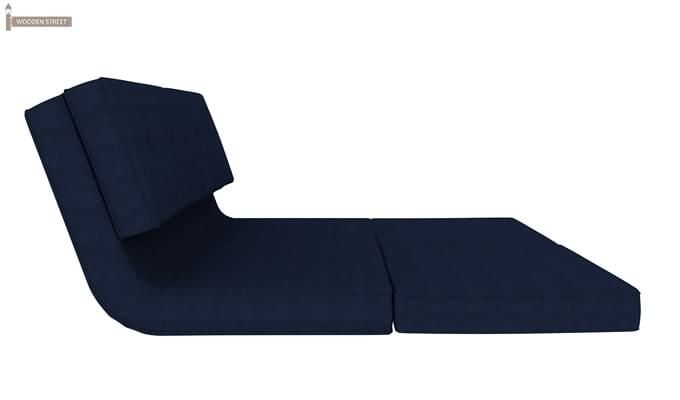 Coleman Futon Bed (Two Seater, Blue)-7