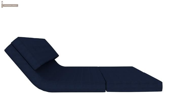 Coleman Futon Bed (Two Seater, Blue)-8