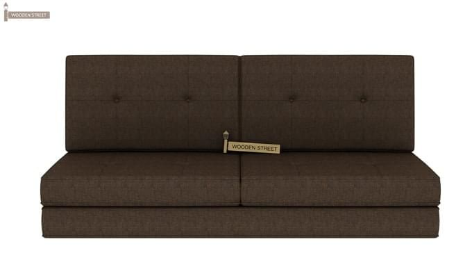 Coleman Futon Bed (Two Seater, Brown)-2