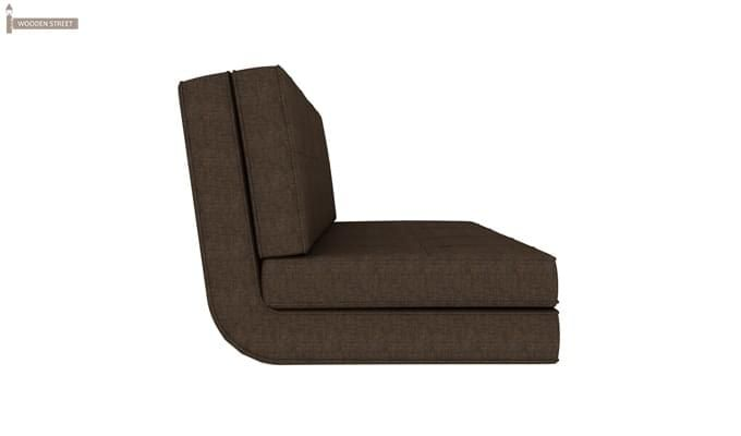 Coleman Futon Bed (Two Seater, Brown)-3