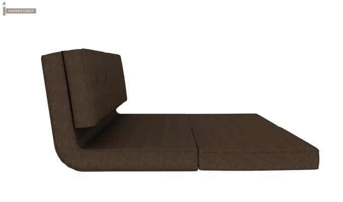 Coleman Futon Bed (Two Seater, Brown)-4