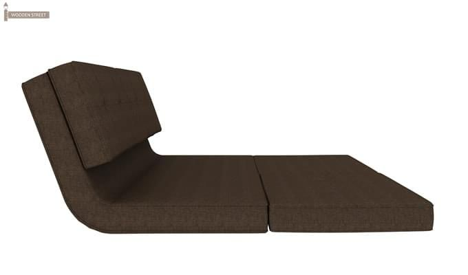 Coleman Futon Bed (Two Seater, Brown)-5