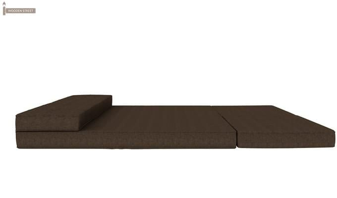 Coleman Futon Bed (Two Seater, Brown)-8