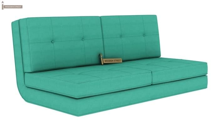 Coleman Futon Bed Two Seater Cyan 1