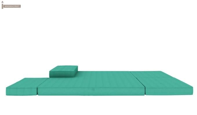 Coleman Futon Bed (Two Seater, Cyan)-10