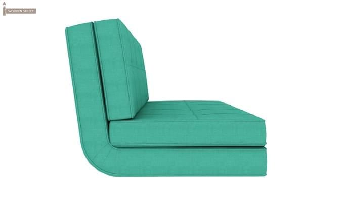 Coleman Futon Bed (Two Seater, Cyan)-3