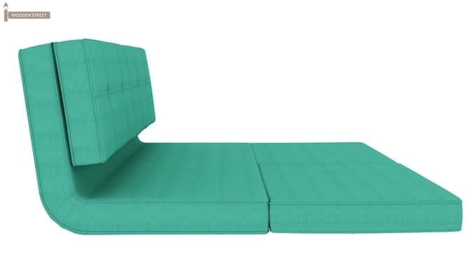 Coleman Futon Bed (Two Seater, Cyan)-4