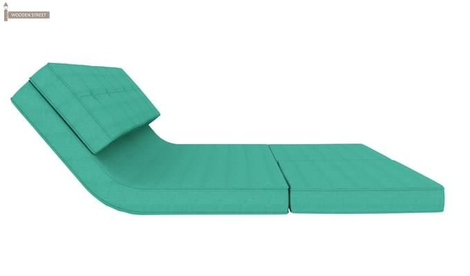 Coleman Futon Bed (Two Seater, Cyan)-6