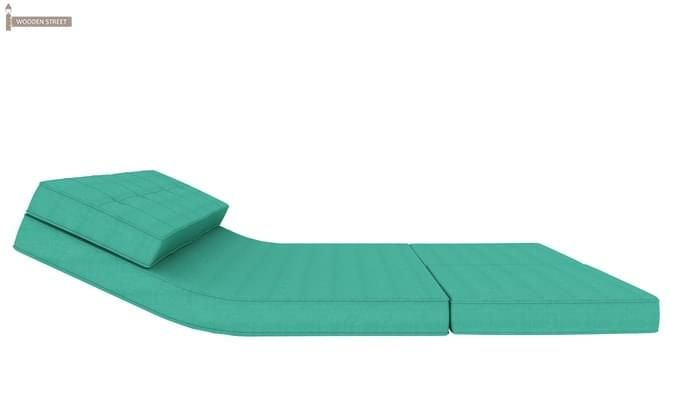 Coleman Futon Bed (Two Seater, Cyan)-7
