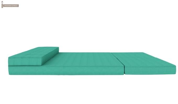 Coleman Futon Bed (Two Seater, Cyan)-8
