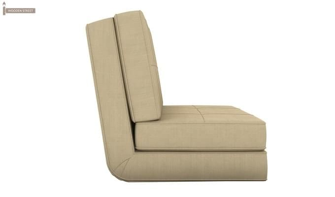 Coleman Futon Single Seater Sofa Cum Bed (Ivory)-2