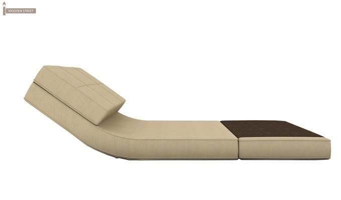 Coleman Single Futon Bed (Ivory)-4