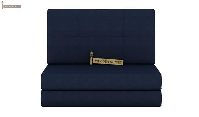 Coleman Single Futon Bed (Blue)-2