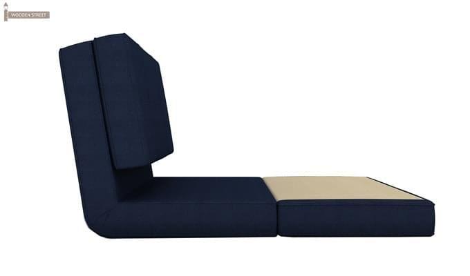 Coleman Single Futon Bed (Blue)-4