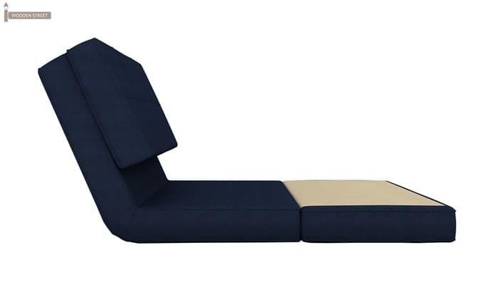 Coleman Single Futon Bed (Blue)-5
