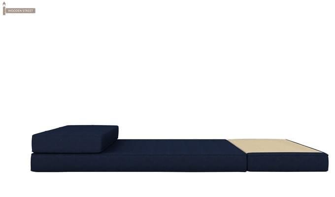 Coleman Single Futon Bed (Blue)-7