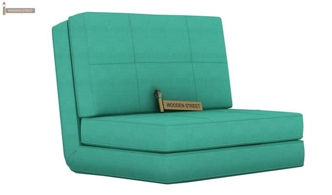 Coleman Single Futon Bed (Cyan)-1
