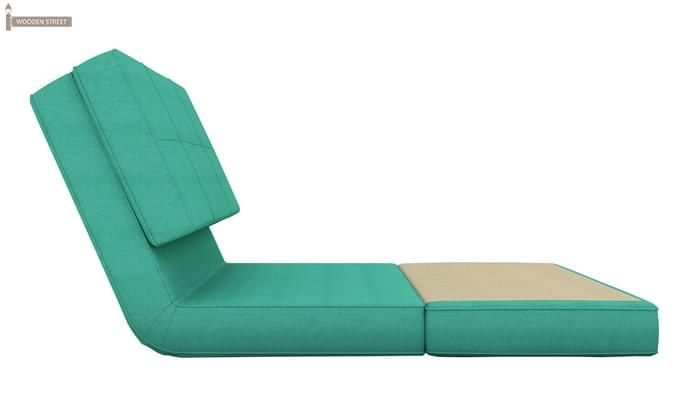 Coleman Single Futon Bed (Cyan)-4