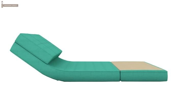 Coleman Single Futon Bed (Cyan)-5