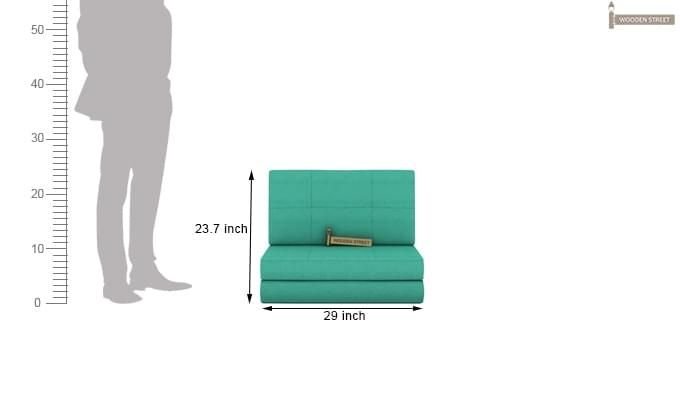 Coleman Single Futon Bed (Cyan)-9