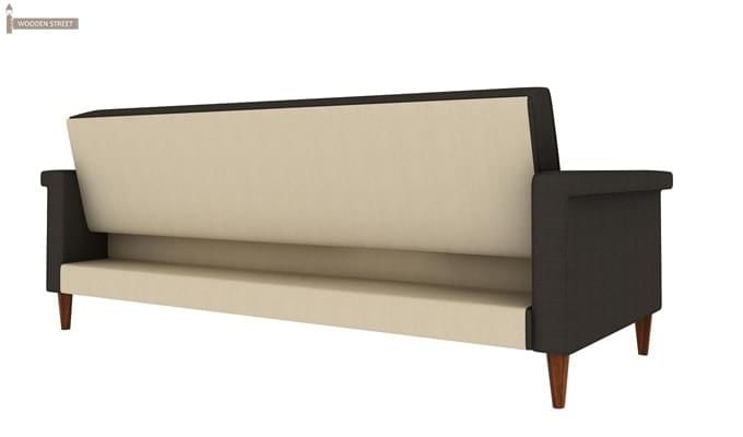 Hover Fabric Sofa Cum Bed (Steel Grey)-3