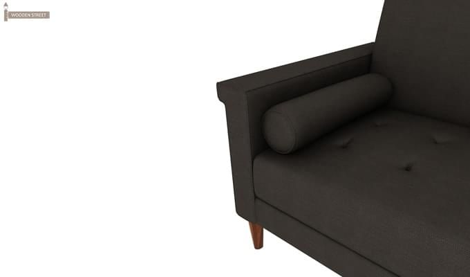 Hover Fabric Sofa Cum Bed (Steel Grey)-4
