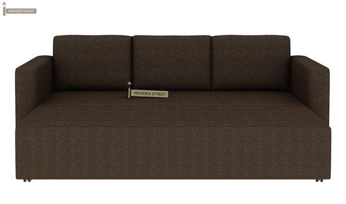 Claridge Fabric Sofa Cum Bed (Classic Brown)-8