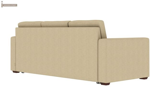 Claridge Fabric Sofa Cum Bed (Ivory)-6